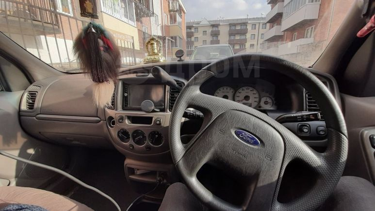 Ford Escape, 2002 год, 260 000 руб.