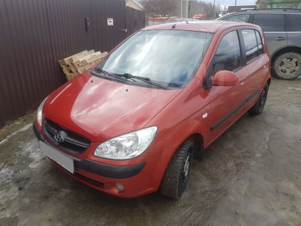 Hyundai Getz, 2007 год, 229 000 руб.