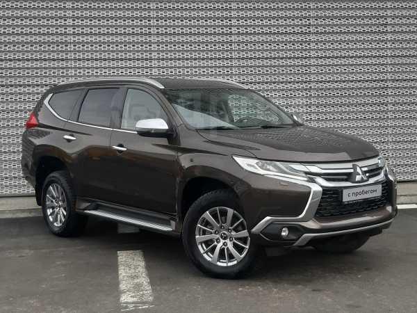 Mitsubishi Pajero Sport, 2017 год, 1 710 000 руб.