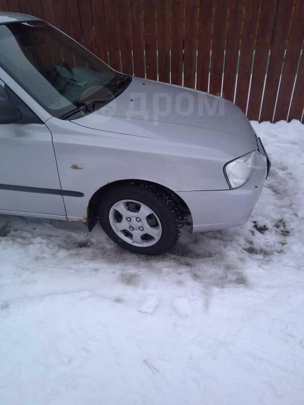 Hyundai Accent, 2002 год, 150 000 руб.