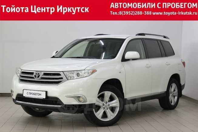 Toyota Highlander, 2013 год, 1 518 000 руб.