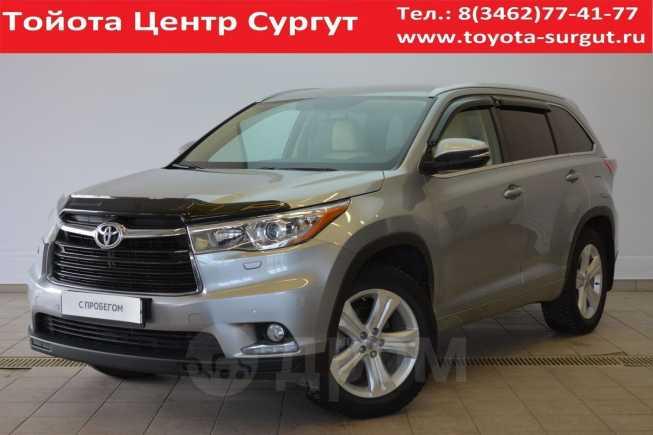 Toyota Highlander, 2014 год, 2 300 000 руб.