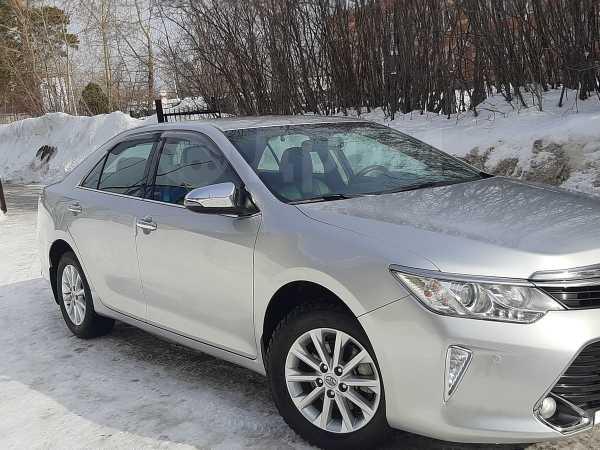 Toyota Camry, 2017 год, 1 650 000 руб.