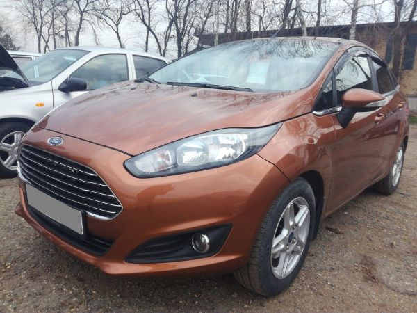 Ford Fiesta, 2015 год, 465 000 руб.