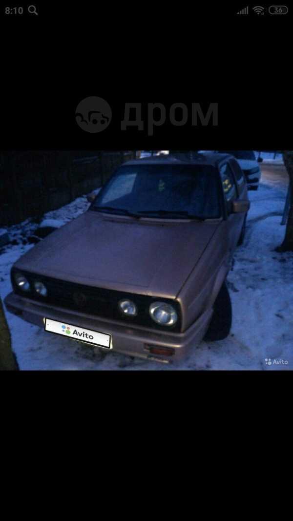 Volkswagen Golf, 1986 год, 50 000 руб.