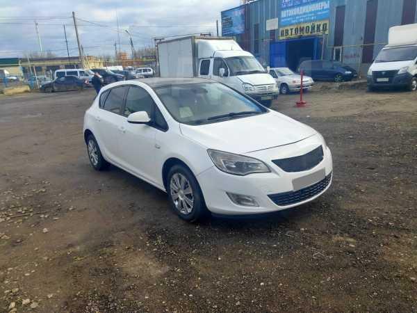 Opel Astra, 2011 год, 325 000 руб.