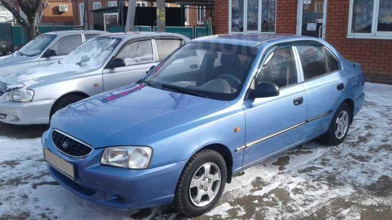 Hyundai Accent, 2003 год, 205 000 руб.