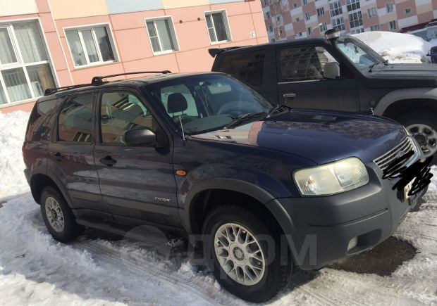 Ford Escape, 2002 год, 320 000 руб.
