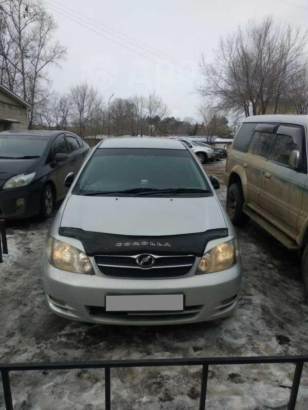 Toyota Corolla Fielder, 2003 год, 260 000 руб.