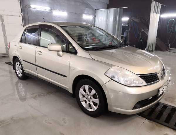 Nissan Tiida Latio, 2007 год, 285 000 руб.
