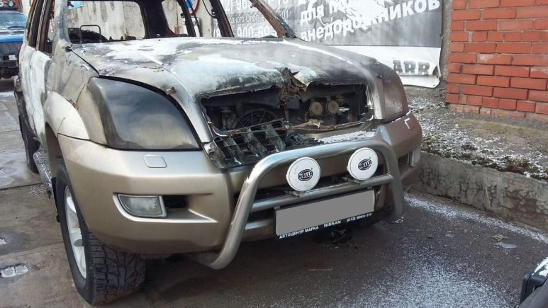Toyota Land Cruiser Prado, 2005 год, 300 000 руб.