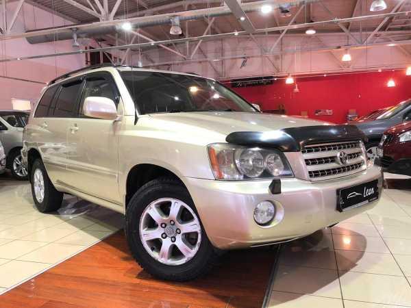 Toyota Highlander, 2001 год, 568 900 руб.