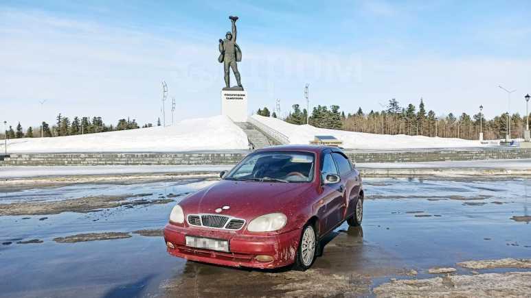 Daewoo Lanos, 2001 год, 60 000 руб.