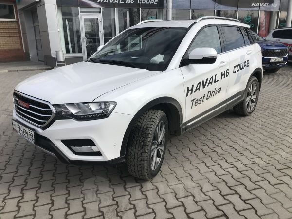Haval H6 Coupe, 2018 год, 1 399 000 руб.