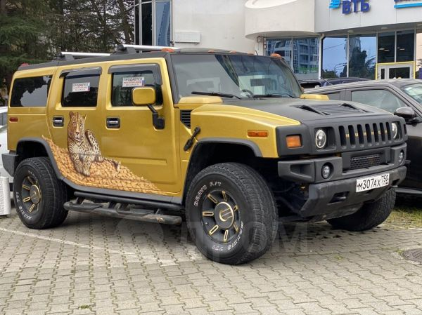 Hummer H2, 2004 год, 900 000 руб.