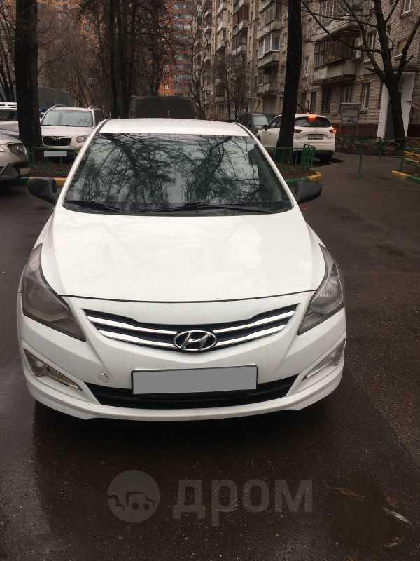 Hyundai Solaris, 2016 год, 430 000 руб.
