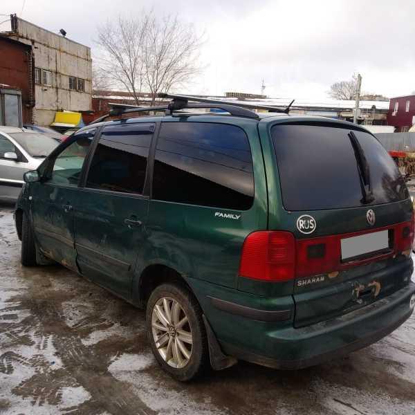 Volkswagen Sharan, 2001 год, 165 000 руб.