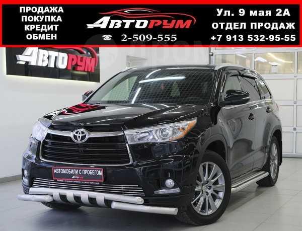 Toyota Highlander, 2014 год, 1 927 000 руб.