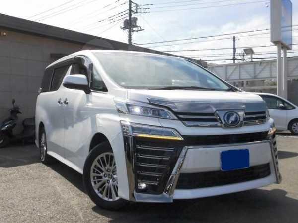 Toyota Vellfire, 2018 год, 1 399 000 руб.