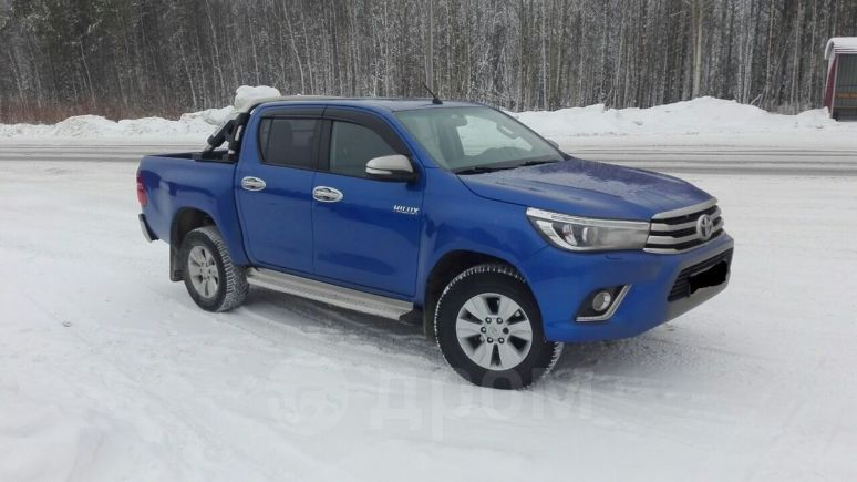 Toyota Hilux Pick Up, 2016 год, 1 840 000 руб.
