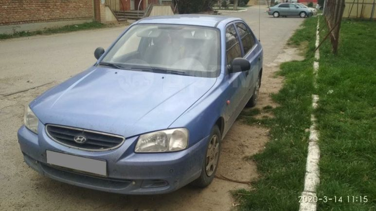 Hyundai Accent, 2007 год, 240 000 руб.