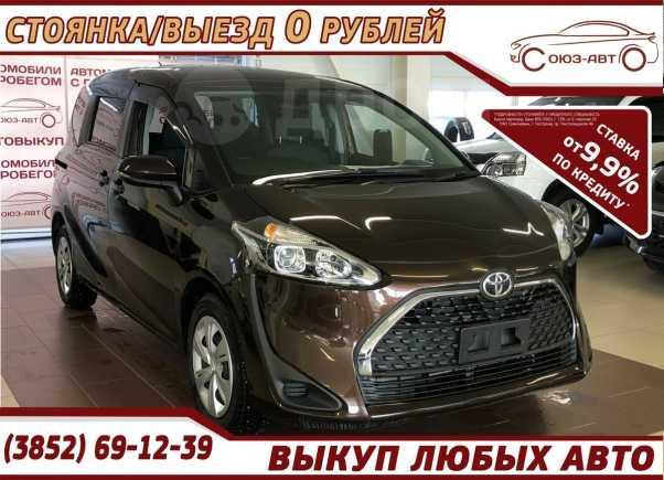 Toyota Sienta, 2019 год, 970 000 руб.