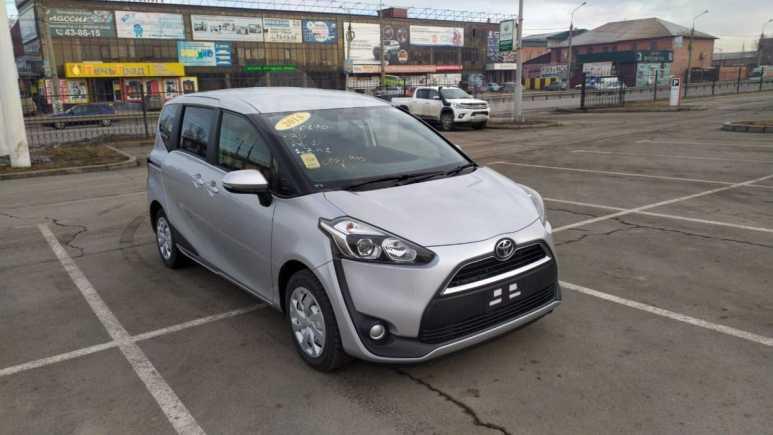 Toyota Sienta, 2016 год, 787 000 руб.
