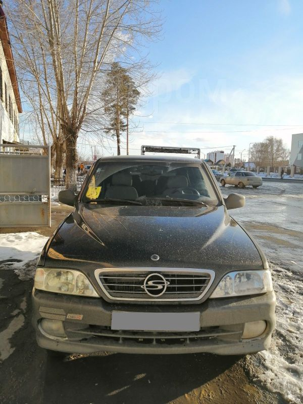 SsangYong Musso, 2002 год, 400 000 руб.