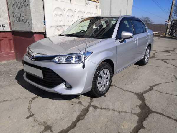 Toyota Corolla Axio, 2016 год, 635 000 руб.