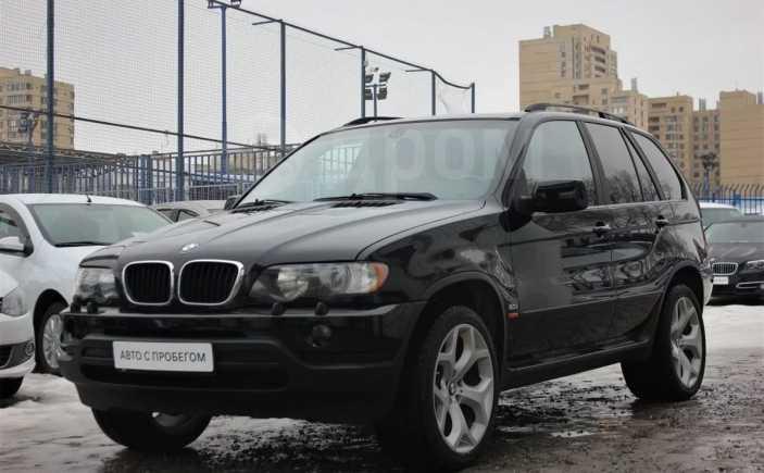 BMW X5, 2002 год, 599 900 руб.