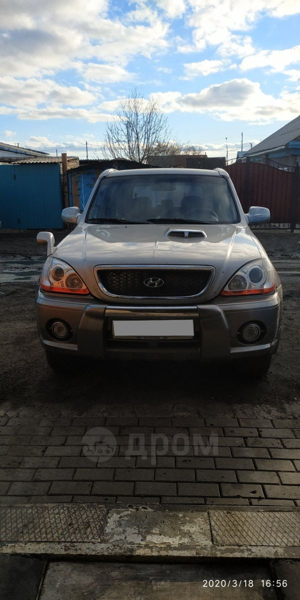Hyundai Terracan, 2003 год, 340 000 руб.