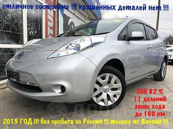 Nissan Leaf, 2015 год, 589 000 руб.