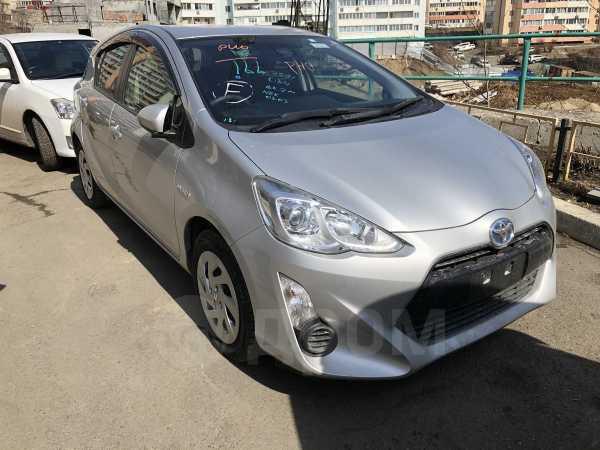 Toyota Aqua, 2016 год, 625 000 руб.