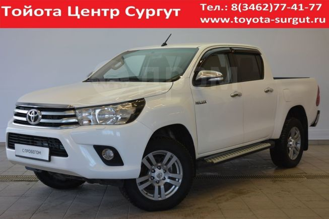 Toyota Hilux Pick Up, 2016 год, 1 670 000 руб.