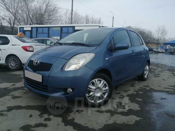 Toyota Yaris, 2007 год, 269 000 руб.
