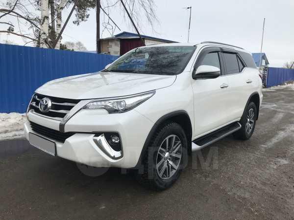 Toyota Fortuner, 2018 год, 2 350 000 руб.