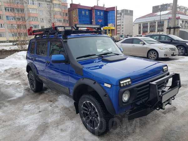 Лада 4x4 Урбан, 2017 год, 600 000 руб.