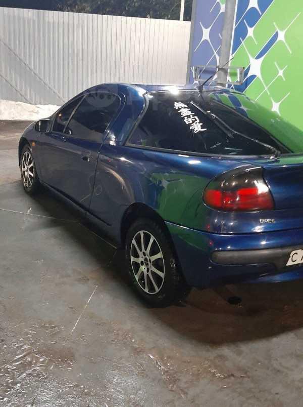 Opel Tigra, 1999 год, 55 000 руб.