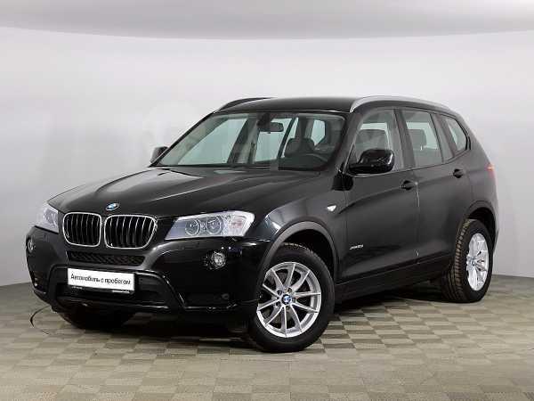 BMW X3, 2013 год, 1 297 000 руб.