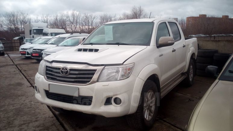 Toyota Hilux Pick Up, 2014 год, 1 290 000 руб.