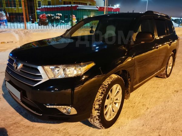 Toyota Highlander, 2012 год, 1 400 000 руб.