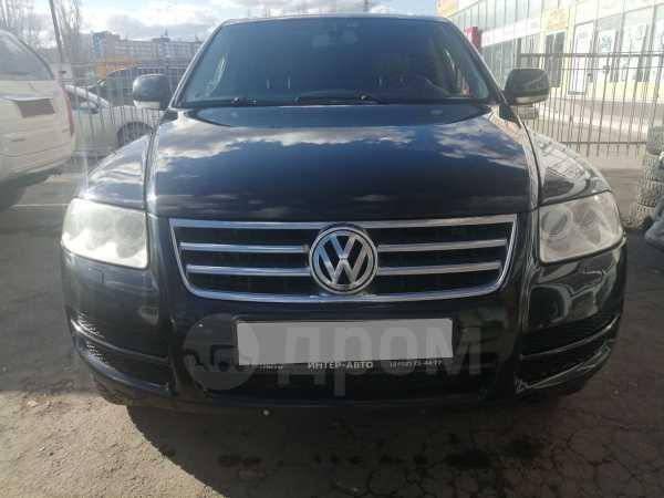 Volkswagen Touareg, 2004 год, 519 000 руб.