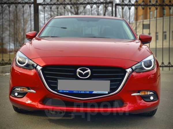 Mazda Mazda3, 2017 год, 1 070 000 руб.