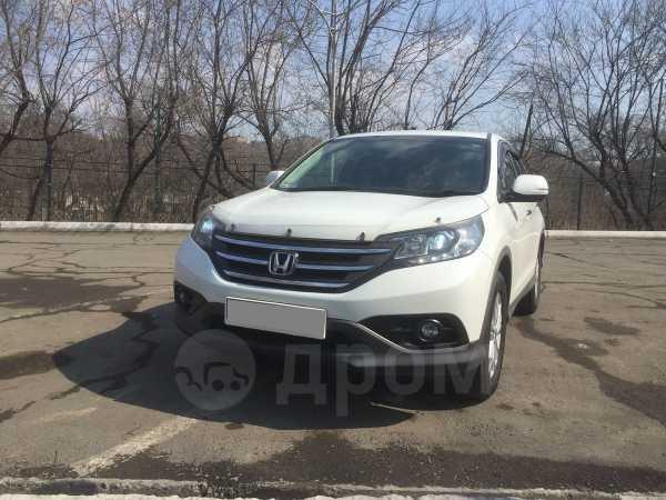 Honda CR-V, 2012 год, 1 310 000 руб.