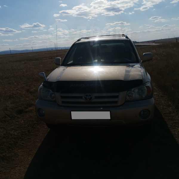 Toyota Highlander, 2004 год, 635 000 руб.