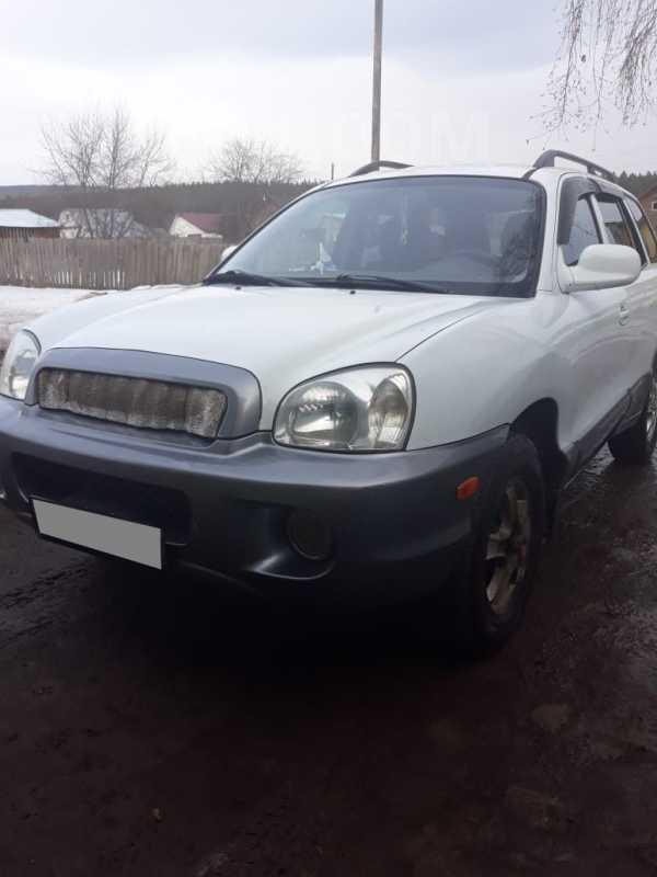 Hyundai Santa Fe, 2001 год, 305 000 руб.
