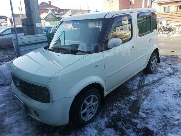 Nissan Cube, 2004 год, 215 000 руб.