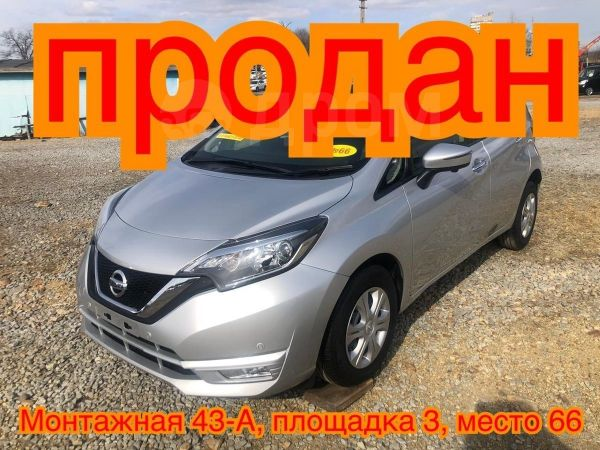 Nissan Note, 2017 год, 635 000 руб.