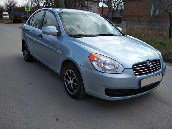 Hyundai Verna, 2007 год, 280 000 руб.
