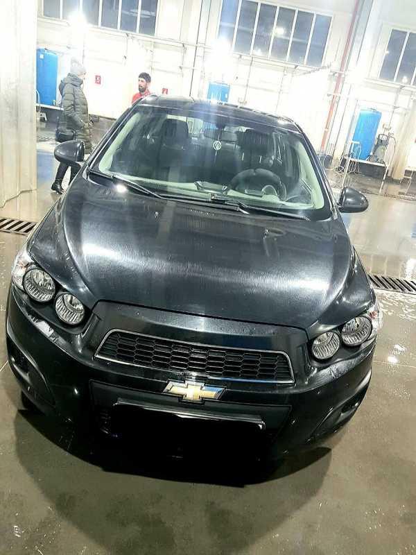 Chevrolet Aveo, 2014 год, 405 000 руб.